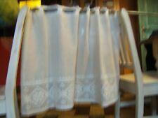 rideaux brise vue plusieurs largeur teinte écru neuf