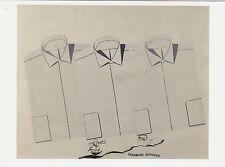 Kunstpostkarte - Sigmar Polke: Hemden