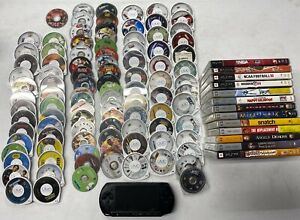 Lot of PSP games, Console, Accessories