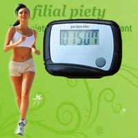 Walking Running Step Run Distance LCD Digital Pedometer Calorie Counter Clip