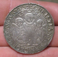 Saxony (Germany) - 1598 Large Silver Thaler - 3 Brothers