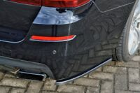 F10 Rear Side Flaps Bumper Skirt spoiler Chin Valance Splitter Extension Apron
