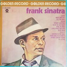 DISQUE 33 TOURS FRANK SINATRA GOLDEN RECORD