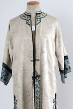 Rare antique and wonderful bright silk robe, China, late Qing-Dynasty