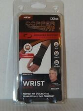 NEW Copper Fit Compression Wrist Sleeve - LARGE - Unisex - Free Shipping (CF-3)