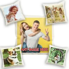 Personalised Family Photo Pillowcase Cushion Pillow Case Cover Custom Gift