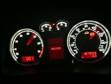 Custom Golf Mk4 R32 Bora Speedometer Tacho Instrument Cluster Clocks