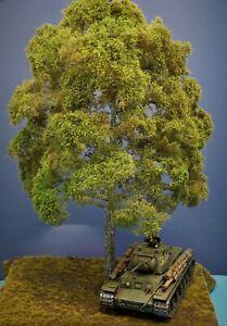 Diorama Zubehör, 1 Modellbaum Buche Sommer, 50 cm hoch