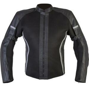 Spada Nimbus CE Approved Motorcycle Motorbike Ladies Mesh Leather Jacket 14
