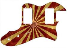 Telecaster Thinline '72 RI Pickguard Fender Guitar Custom Graphical Big Top Peak