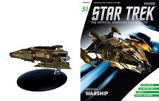 Eaglemoss Diecast Star Trek ST0051 STARSHIPS HIROGEN HUNTER & MAGAZINE #51