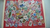 2012  - lot 100 timbres seconds USA