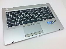 HP Elitebook 8460p Palmrest + Keyboard + Touchpad 642744-001 Genuine USA / 16