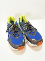 HOKA ONE ONE CLIFTON 3 RUNNING SHOES Men Size 8.5 Blue Sneakers 1012046