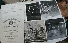 Lot of 1959-71 Canton Ohio Police Photos and Certificates
