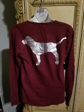 Victoria secret pink Thermal Shirt EUC!!