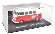 VOLKSWAGEN T1 TRANSPORTER COMBI 1967- 1:43 DIECAST VW ITALIAN VAN MODEL IXO 61