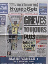 ▬► Journal France Soir 13/04/1995 Véronique Sanson Jalabert