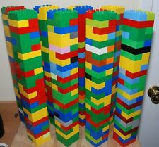 LEGO DUPLO LOT 100 BUILDING BLOCKS BRICKS PIECES RED BLUE GREEN YELLOW 2X4