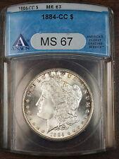 1884-CC Morgan Silver Dollar, ANACS MS-67