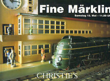CHRISTIE'S Model Railway Marklin Trains and Accessories Auction Catalog 1999
