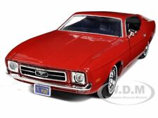 1971 FORD MUSTANG SPORTSROOF RED 1/24 DIECAST MODEL BY MOTORMAX 73327