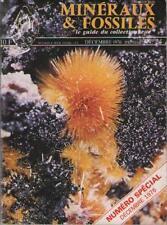 Revue Minéraux & Fossiles Guide Collectionneur 1976 – No 24 - Sommaire Dedans