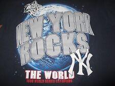 1998 NEW YORK YANKEES World Series ROCKS WORLD (MED) T-Shirt