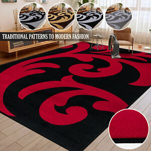 Living Room Hallway Area Rug & Runners Non Slip Quality Carpets Large Mat