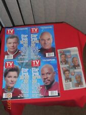 TV GUIDE STAR TREK - AUGUST 1996 - SET OF 4 COLLECTORS' EDITION COVERS