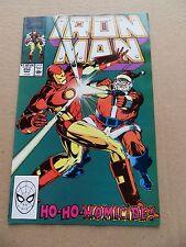 Iron Man 254 . Marvel 1990 -    VF