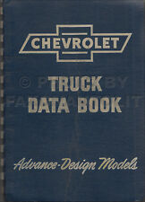 1947 Chevrolet Truck Data Book Chevy Facts Dealer Album Specs Accessories