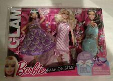 Barbie Fashionistas GLAM Prom Night Formal Fashion Dresses Gowns Bridesmaids NEW