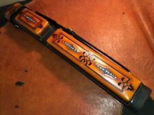 Volturi Custom Pool Case 2x4 Genuine Leather Black/Brown