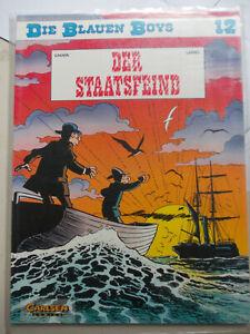 Die blauen Boys 12 Der Staatsfein 1. Auflage 1994 Carlsen Comics