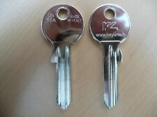 100 X Schlüssel Rohlinge Rohling Un5sa 707 Universal ABUS Schlüsseldienst