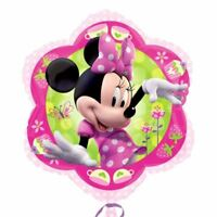 45.7cm Disney Minnie Mouse Children's Birthday Party Flower Foil Shape Balloon