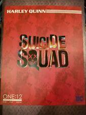 DC Comics Mezco One:12 Suicide Squad Harley Quinn Action Figure