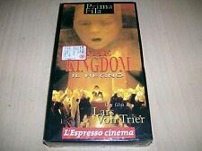 VHS THE KINGDOM-IL REGNO-LARS VON TRIER-L'ESPRESSO CINEMA-1994-NUOVO SIGILLATO!