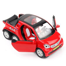 1:24 Benz Smart Fortwo Pickup Car Model Alloy Diecast Toy Vehicle Collection Red