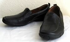 "Women's Naturalizers Size 7.5 ""Magic"" Black Leather Cushioned Comfort Shoes C4"