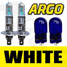 H1 + 501 4500K 55W HEADLIGHT REPLACEMENT BULBS LOOK HALOGEN WHITE - CHEVROLET