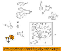 Acura HONDA OEM 96-99 RL Steering Column-Switch Housing 35251SW5N02