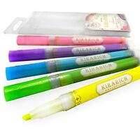 Zebra - Kirarich Glitter Ink Highlighters - Wallet of 5 Assorted Colours