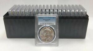 20 1974 S $1 Eisenhower Silver Ike Dollar PCGS MS67 Lot of 20
