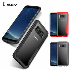 Ipaky Brand Armor Bumper + Clear Robot Cover case For Samsung Galaxy S8 , S8 +