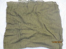 Headnet Camouflage, British Army, Netzschal Halstuch,Größe 110x120cm,neuwertig