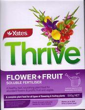 Yates FLOWER + FRUIT Soluble Fertiliser 500g MAKES 500 litres- FREE P & H Aust