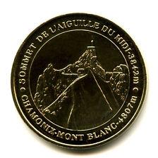 74 CHAMONIX Aiguille du Midi, 4807 mètres, 2007, Monnaie de Paris