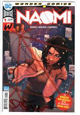 NAOMI #1 - NM - Signatures Brian Bendis & David Walker!